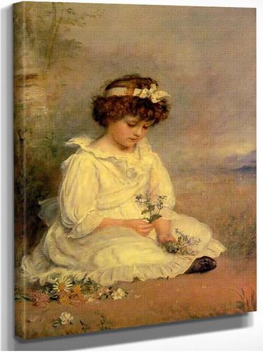 Little Speedwell S Darling Blue 1892 By John Everett Millais