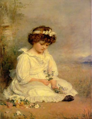 Little Speedwell S Darling Blue 1892 By John Everett Millais Art Reproduction from Wanford