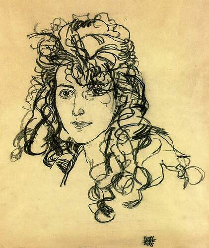 Madame Sohn 1918 By Egon Schiele Art Reproduction from Wanford
