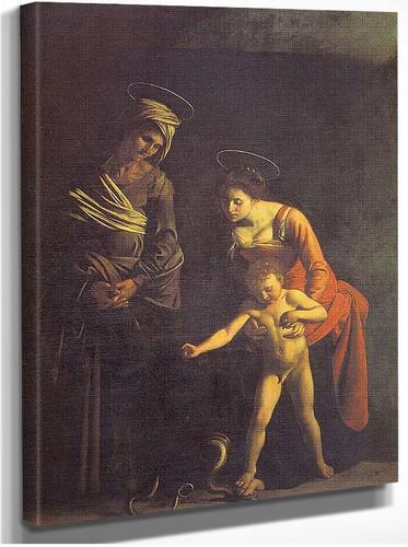 Madonna Dei Palafrenieri By Caravaggio