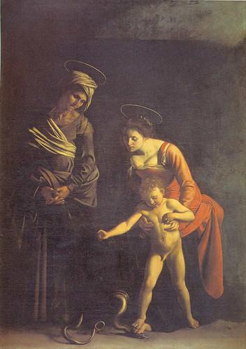Madonna Dei Palafrenieri By Caravaggio Art Reproduction from Wanford