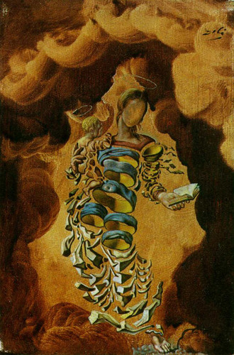 Madonna In Particles By Salvador Dali Art Reproduction from Wanford