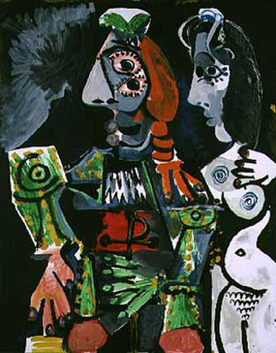 Matador And Female Nude 1970 By Pablo Picasso Art Reproduction from Wanford