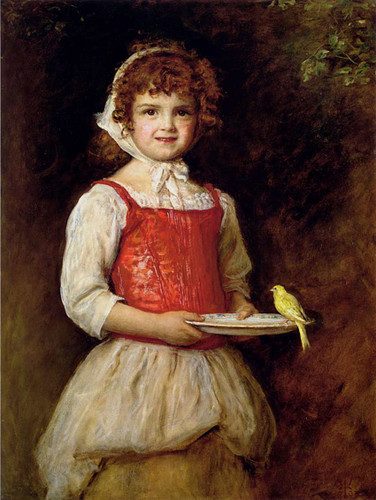 Merry By John Everett Millais Art Reproduction from Wanford