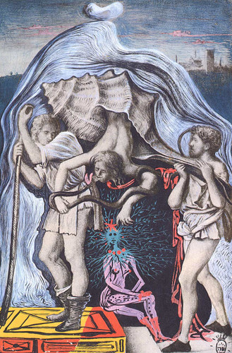 Metamorphosis Of The Five Allegories Of Giovanni Bellini By Salvador Dali Art Reproduction from Wanford