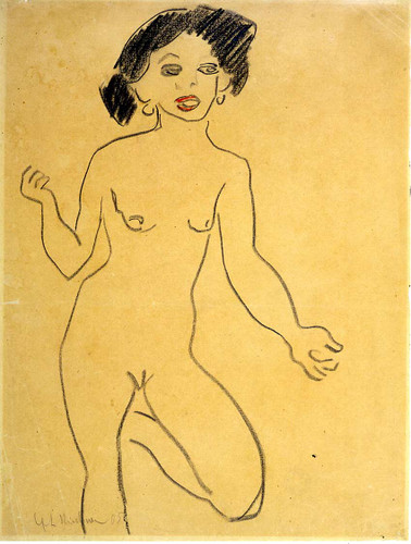 Milli By Ernst Ludwig Kirchner Art Reproduction from Wanford