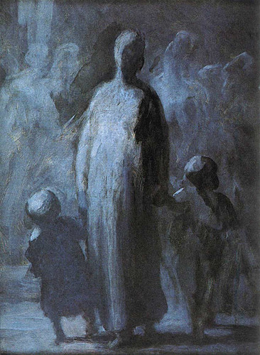 Mother By Daumier Honore Art Reproduction from Wanford