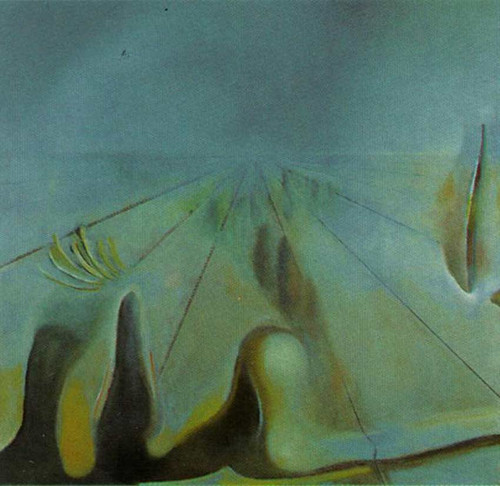 Enigma Unfinished Version Of The Three Glorious Enigmas Of Gala By Salvador Dali Art Reproduction from Wanford.