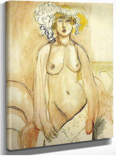 Nude 4 By Henri Matisse