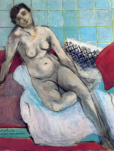 Nude 5 By Henri Matisse Art Reproduction from Wanford