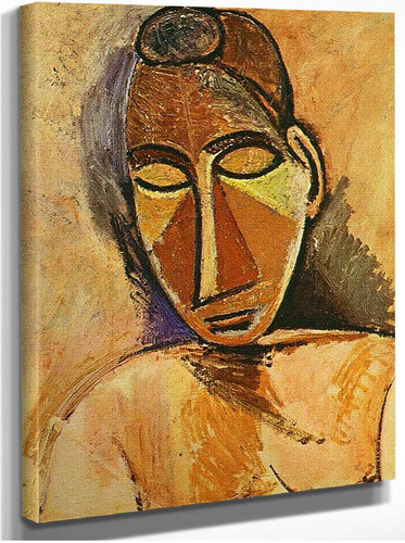 Nude Bust 1907 By Pablo Picasso