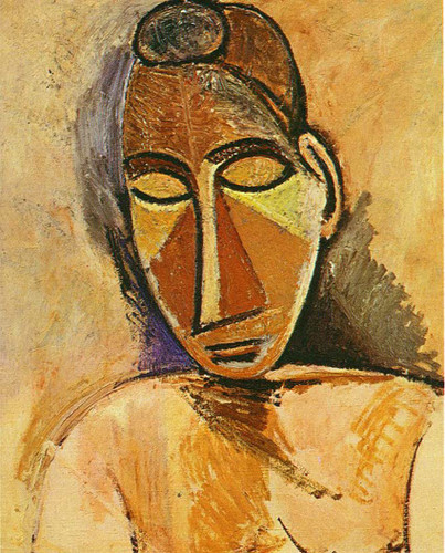 Nude Bust 1907 By Pablo Picasso Art Reproduction from Wanford