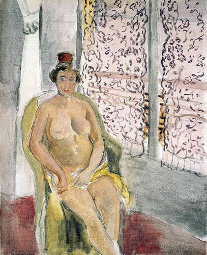 Nude In A Chair By Henri Matisse Art Reproduction from Wanford