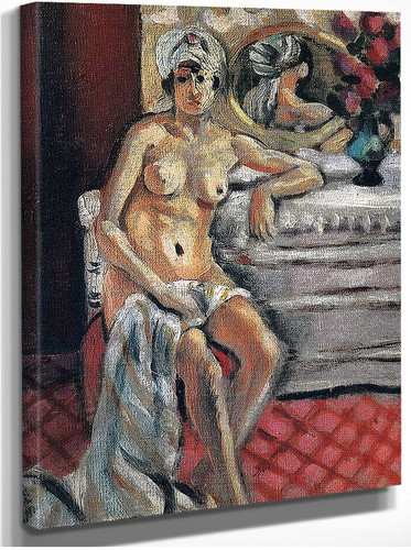 Nude In A Turban By Henri Matisse