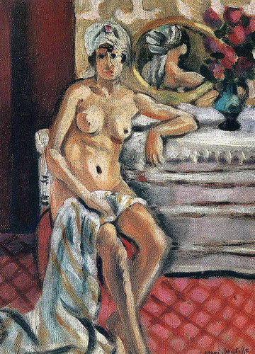 Nude In A Turban By Henri Matisse Art Reproduction from Wanford