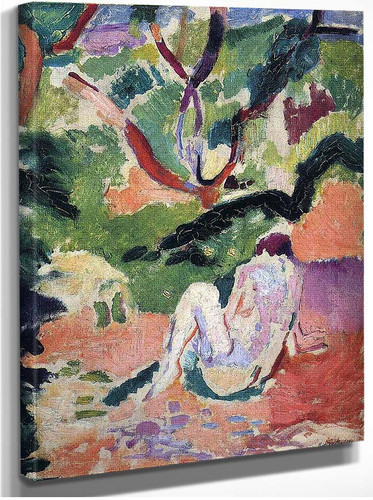 Nude In A Wood 1906 By Henri Matisse