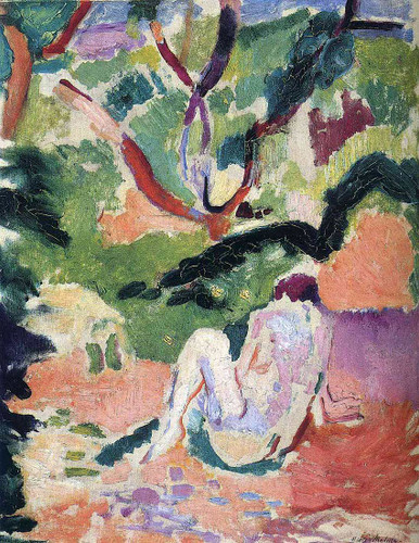 Nude In A Wood 1906 By Henri Matisse Art Reproduction from Wanford