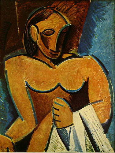 Nude With Towel 1907 By Pablo Picasso Art Reproduction from Wanford