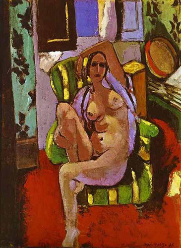 Odalisque With A Tambourine 1926 By Henri Matisse Art Reproduction from Wanford