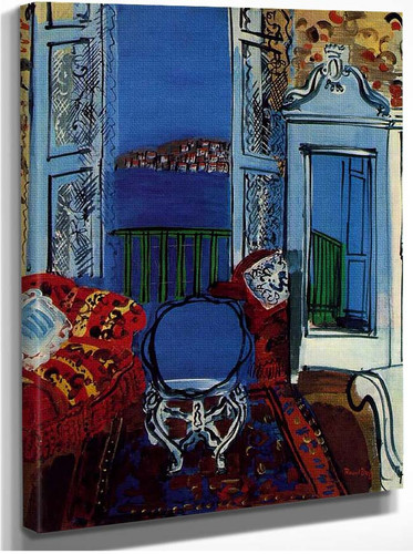 Open Window 1928 By Dufy Raoul