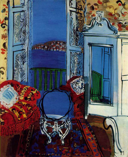 Open Window 1928 By Dufy Raoul Art Reproduction from Wanford