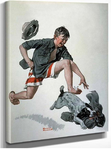 Pants By Norman Rockwell