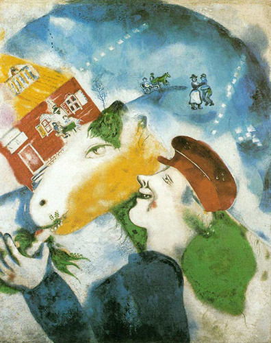 Peasant Life 1925 By Marc Chagall Art Reproduction from Wanford