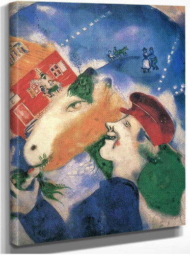 Peasant Life By Marc Chagall