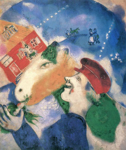 Peasant Life By Marc Chagall Art Reproduction from Wanford