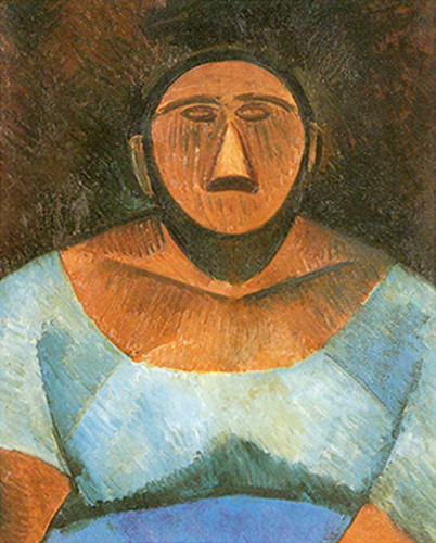 Peasant Woman1 By Pablo Picasso Art Reproduction from Wanford