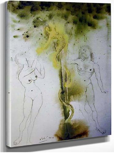 Peccatum Originis 1967 By Salvador Dali