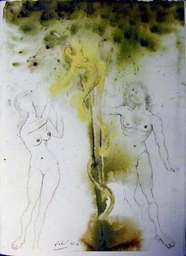 Peccatum Originis 1967 By Salvador Dali Art Reproduction from Wanford