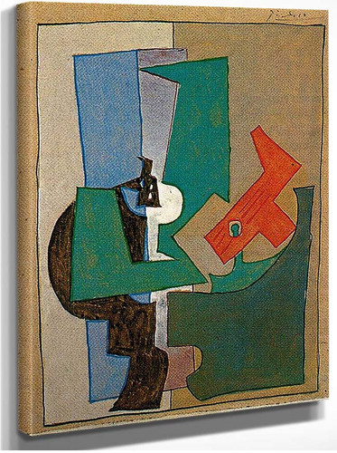 Pedestal 1920 By Pablo Picasso