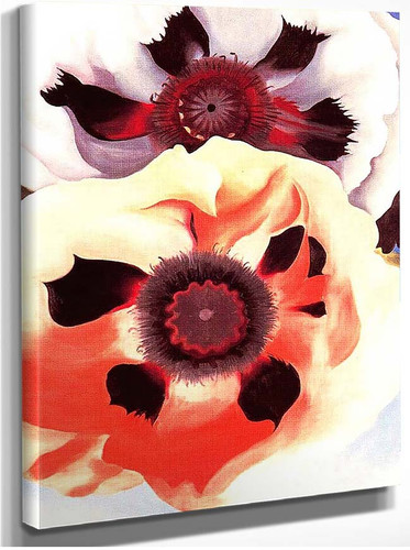 Poppies By Georgia O Keeffe