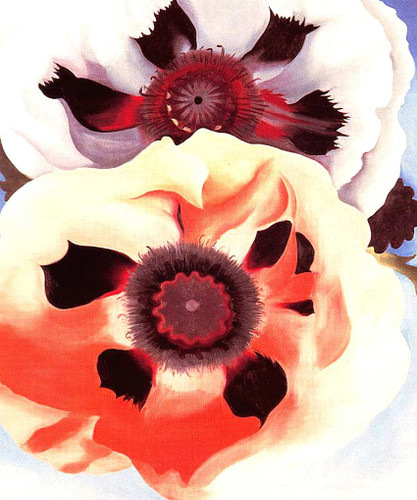 Poppies By Georgia O Keeffe Art Reproduction from Wanford