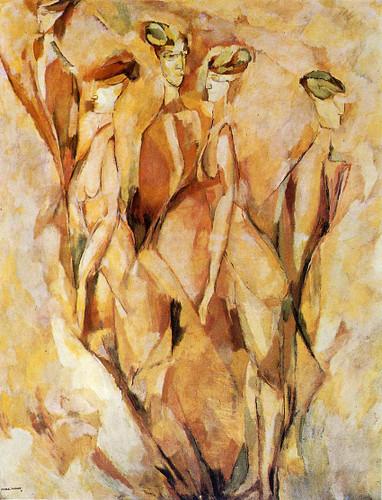 Portrait Dulcinea 1911 By Duchamp Marcel Art Reproduction from Wanford