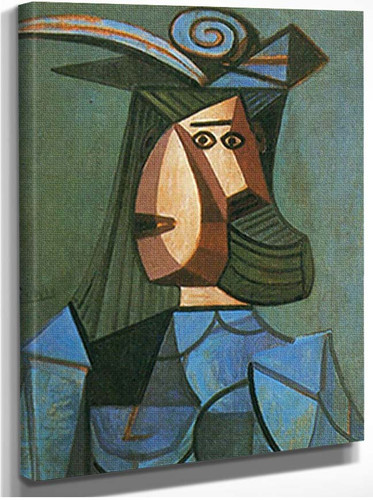 Portrait Of A Woman Dora Maar By Pablo Picasso
