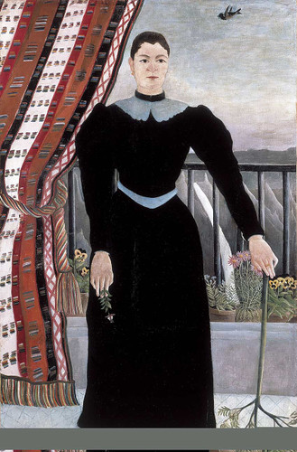 Portrait Of A Woman 1895 By Henri Rousseau Art Reproduction from Wanford