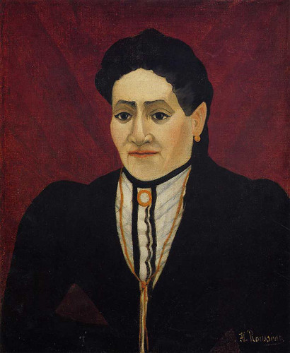 Portrait Of A Woman 1905 By Henri Rousseau Art Reproduction from Wanford
