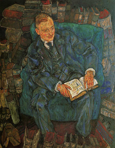 Portrait Of Dr Hugo Koller 1918 By Egon Schiele Art Reproduction from Wanford