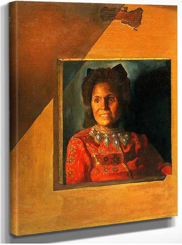 Portrait Of Gala 1977 By Salvador Dali