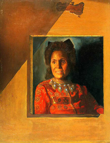 Portrait Of Gala 1977 By Salvador Dali Art Reproduction from Wanford