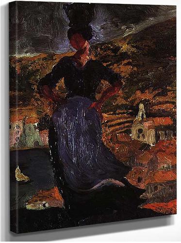 Portrait Of Hortensia By Salvador Dali