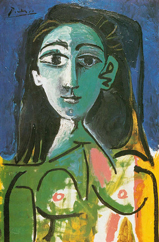 Portrait Of Jacqueline 9 By Pablo Picasso Art Reproduction from Wanford