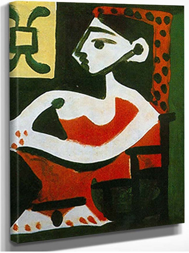 Portrait Of Jacqueline In Profile By 2 By Pablo Picasso