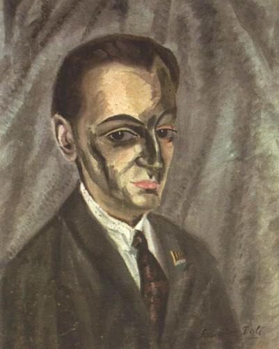 Portrait Of Jose M Torres By Salvador Dali Art Reproduction from Wanford