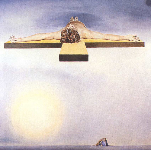 Gala S Christ By Salvador Dali Art Reproduction from Wanford.