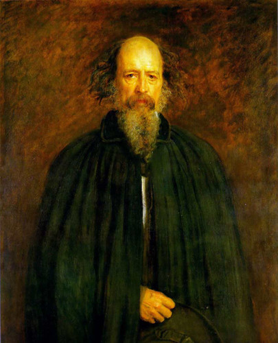 Portrait Of Lord Alfred Tennyson By John Everett Millais Art Reproduction from Wanford