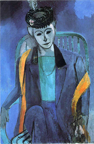 Portrait Of Mme Matisse 1913 By Henri Matisse Art Reproduction from Wanford
