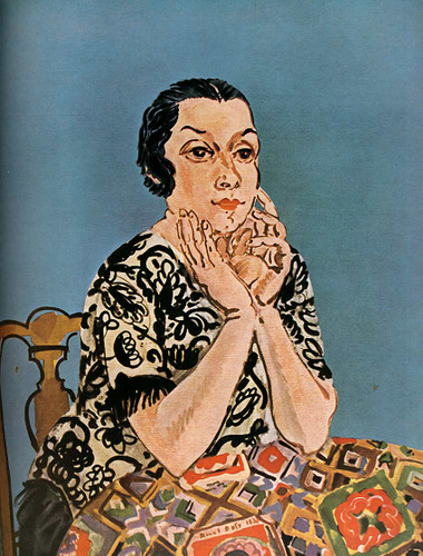 Portrait Of Mrs Dufy 1930 By Dufy Raoul Art Reproduction from Wanford